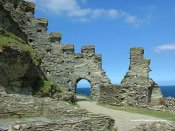 Tintagel Castle - Cornwall - Castle